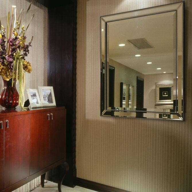 Decorative Wall Mirror Polystyrene Finish