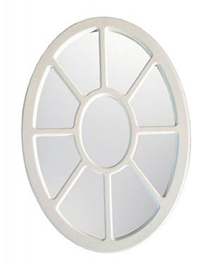 Oval Framed Wall Glass Mirror