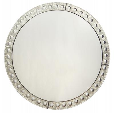 Fiberboard Framed Rectangular Glass Mirror