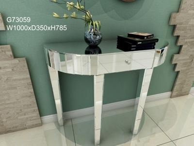 G73015 Makeup Vanity and Dressing Table with Glass Mirror