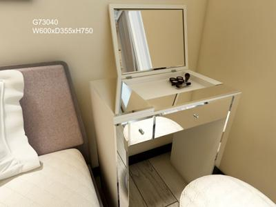 G73051 Makeup Vanity and Dressing Table with Glass Mirror