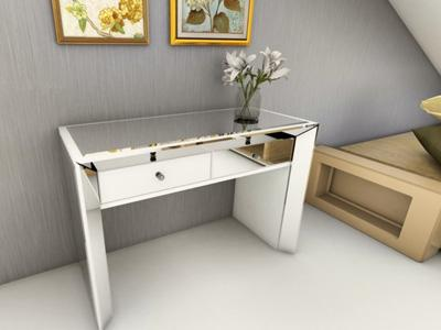 G73042 Makeup Vanity and Dressing Table with Glass Mirror