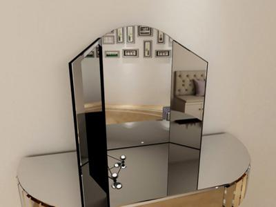 G-C73100 Folding Glass Vanity Mirror