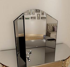 Folding Glass Vanity Mirror