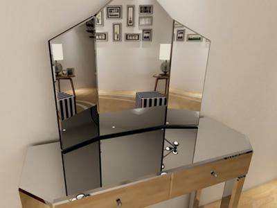 G-C73101 Folding Glass Vanity Mirror